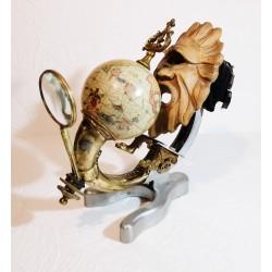 sculpture le savant
