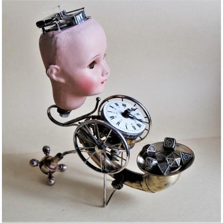 Le robot à dés